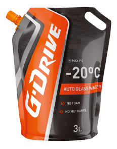 g drive auto glass cleaner for winter