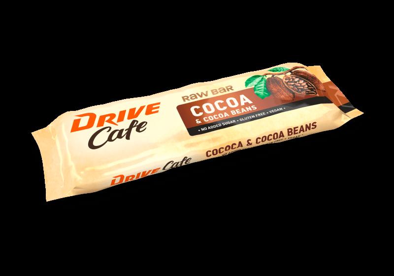 drive cafe raw bars cocoa taste