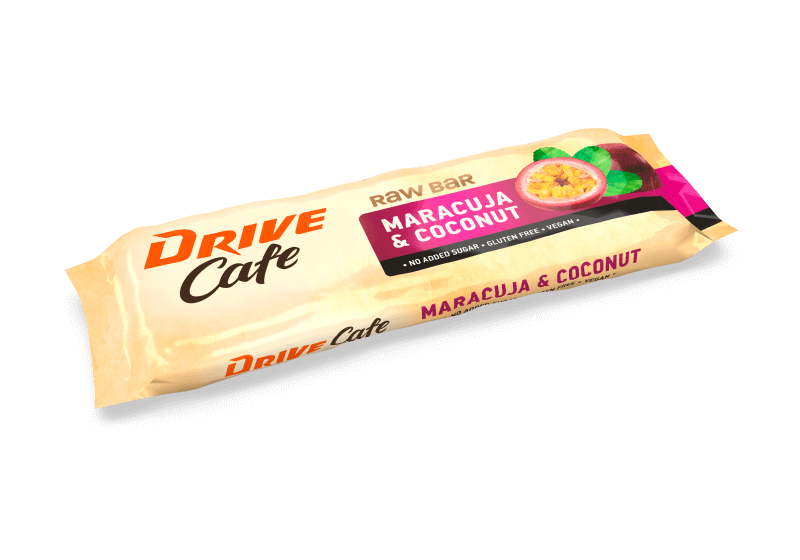 drive cafe raw bar maracuja and coconut