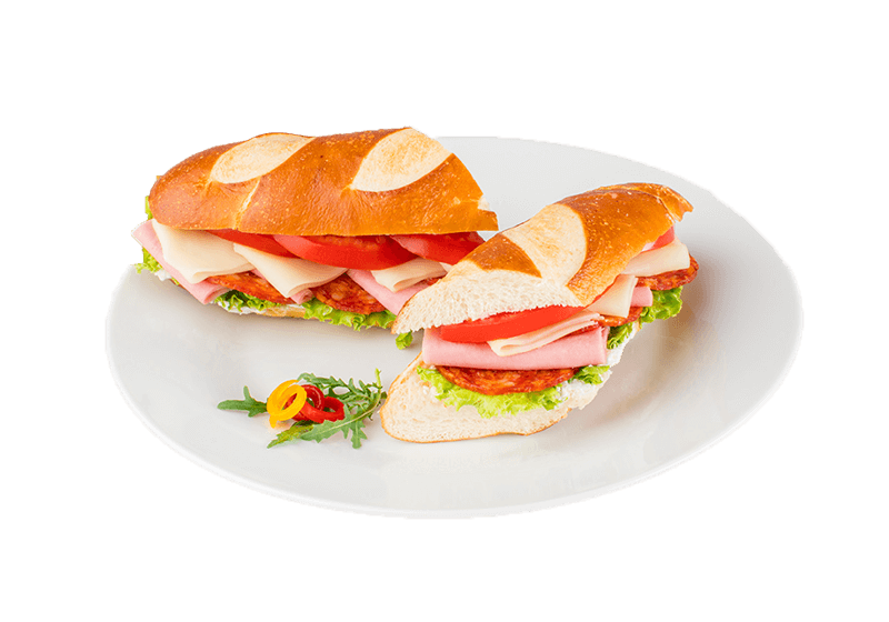 sandwiches on a plate