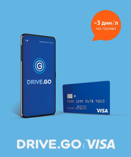 Drive.Go и Visa